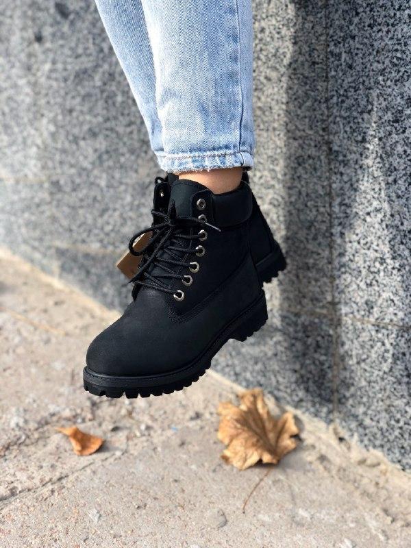 Шикарные женские зимние ботинки на меху timberland premium inc... - Фото 3