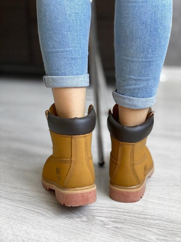 Шикарные женские зимние ботинки timberland - Фото 4