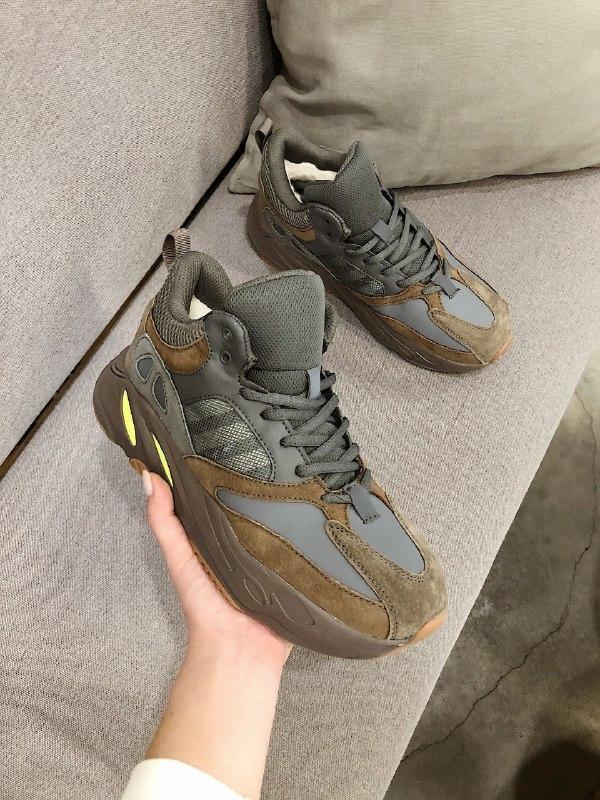 Шикарные мужские зимние кроссовки adidas yeezy boost 700 winter - Фото 5
