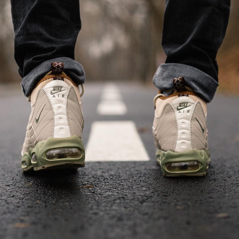 Шикарные мужские зимние кроссовки  nike air max 95 sneakerboot... - Фото 4