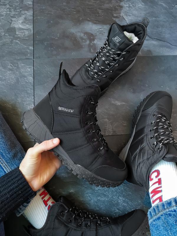 Шикарные мужские зимние ботинки