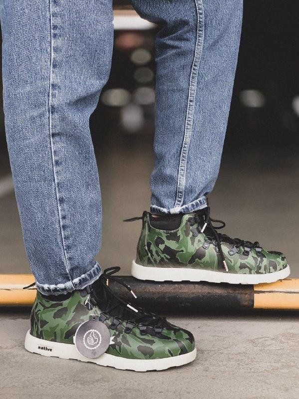 Шикарные мужские зимние ботинки native