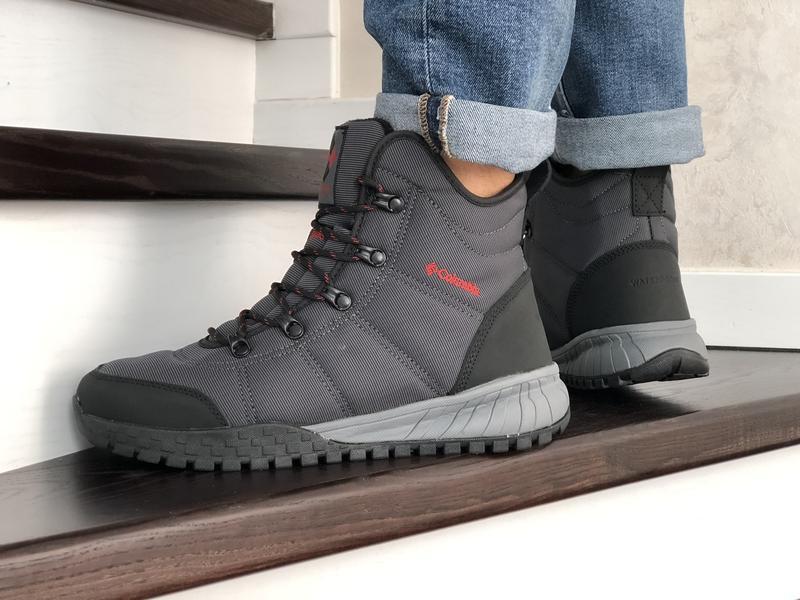 Шикарные мужские зимние ботинки columbia - Фото 2