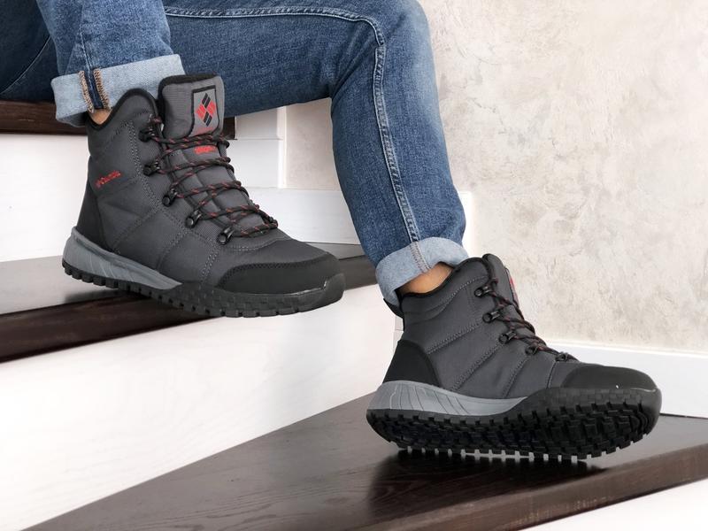 Шикарные мужские зимние ботинки columbia - Фото 3