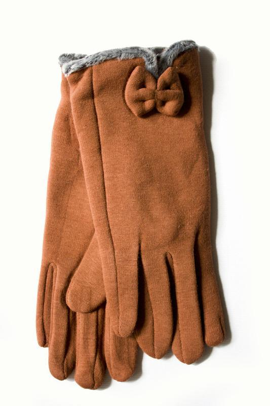 Перчатки стрейч на меху, разные размеры