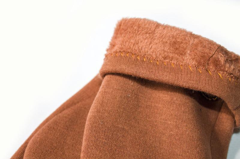 Перчатки стрейч на меху, разные размеры - Фото 2