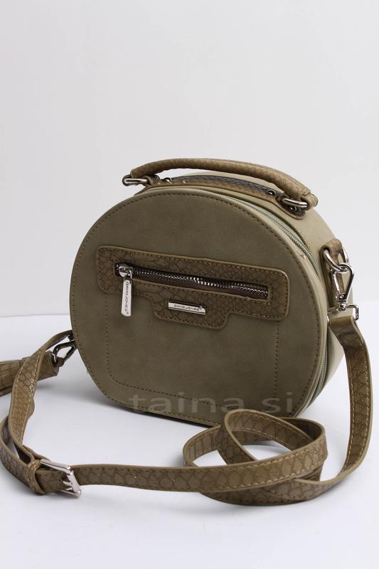 Клатч david jones 5714-2 khaki хаки зеленый оригинал кросс бод...