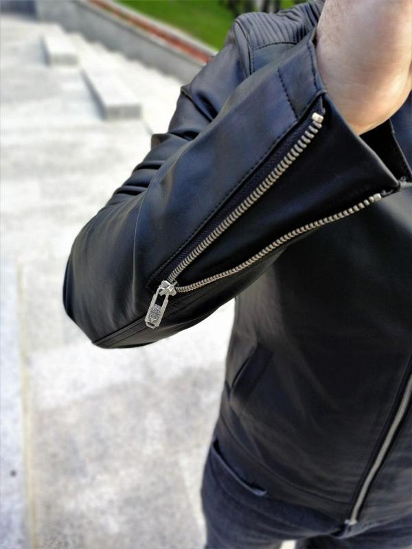 Куртка шкірянка ww2703 - Фото 2