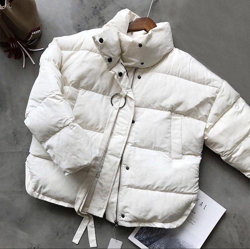 Куртка біла зимова