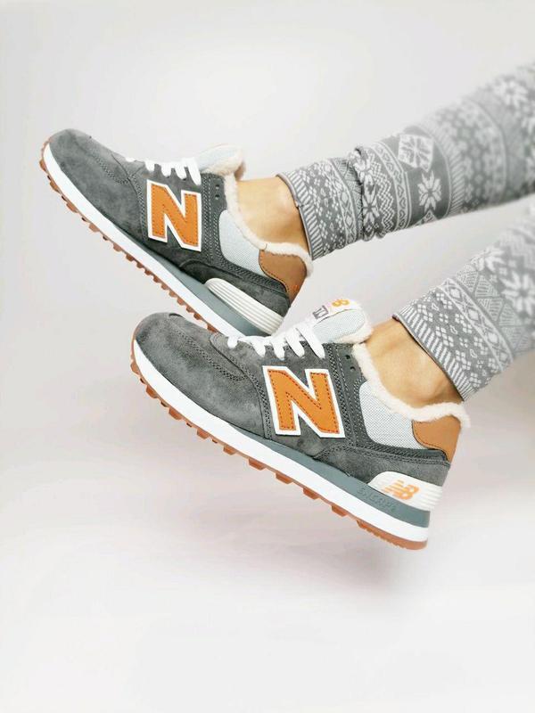 Кросівки new balance з хутром