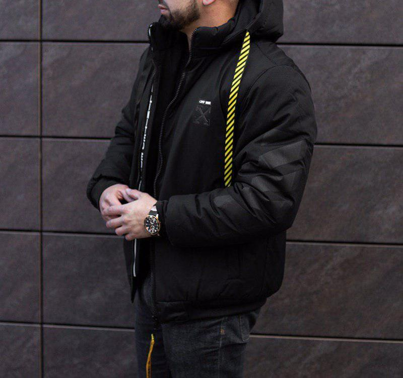 Зимова куртка off white