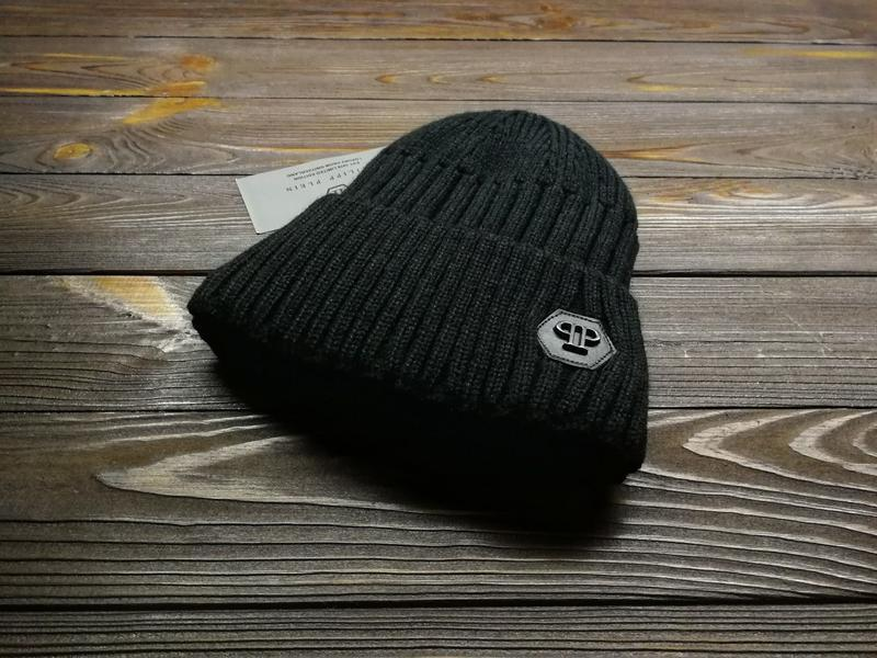 В'язанна шапка - Фото 2