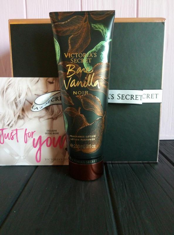 Парфюмированный лосьон для тела bare vanilla noir victoria's s...