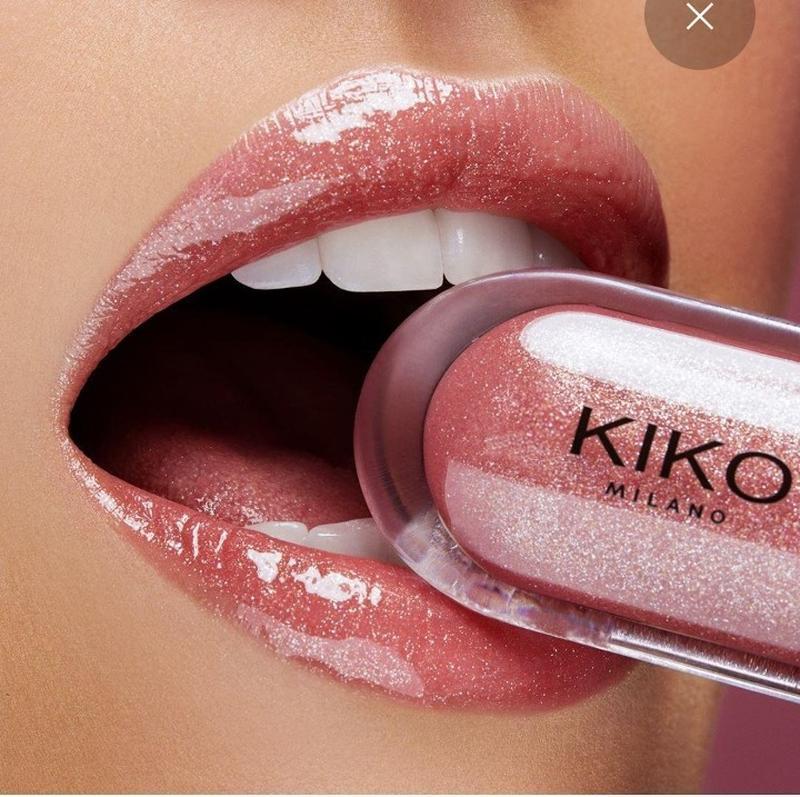 Блеск для губ kiko milano 3d hydra lipgloss тон 17