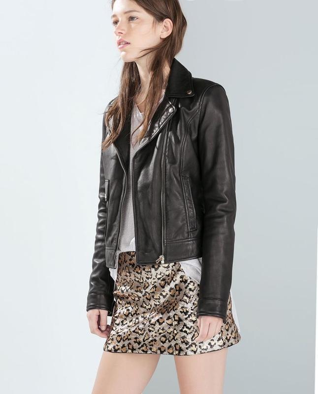 Очень красивая,мини юбка в паетки,вечерняя в леопардовый принт...