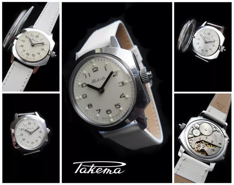 …НЕОРДИНАРНЫЕ часы РАКЕТА, механика сделанная в Советскую ЭПОХУ