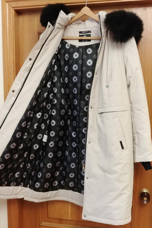 Акция!новое светлое теплое пальто, со съемным капюшоном (отдел...