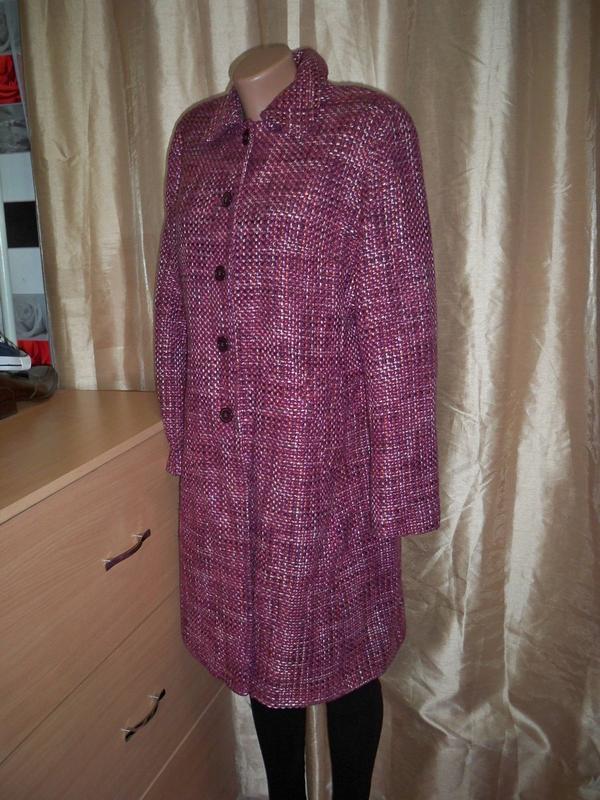 Фірмове базове пальто marks&spencer, 16, литва. - Фото 2