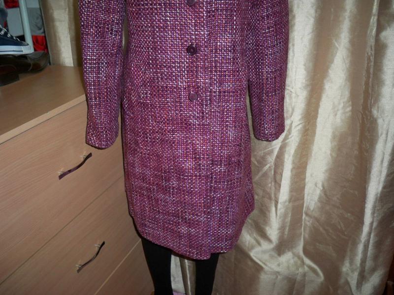 Фірмове базове пальто marks&spencer, 16, литва. - Фото 4