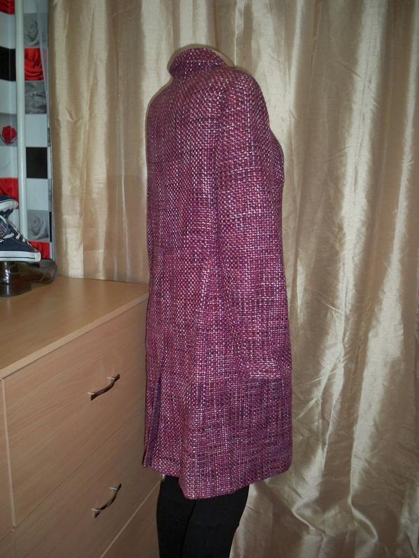 Фірмове базове пальто marks&spencer, 16, литва. - Фото 5