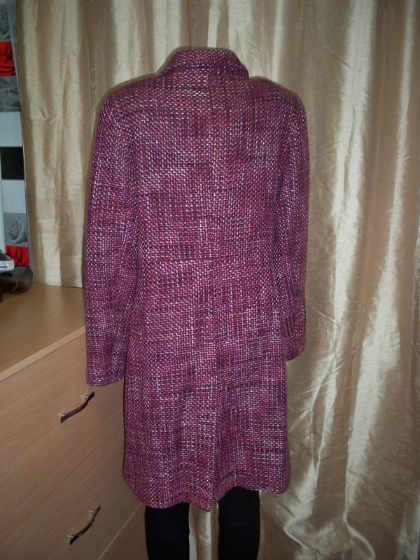 Фірмове базове пальто marks&spencer, 16, литва. - Фото 6