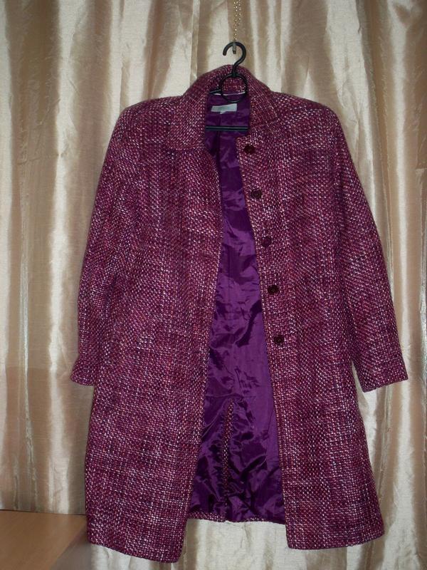 Фірмове базове пальто marks&spencer, 16, литва. - Фото 7