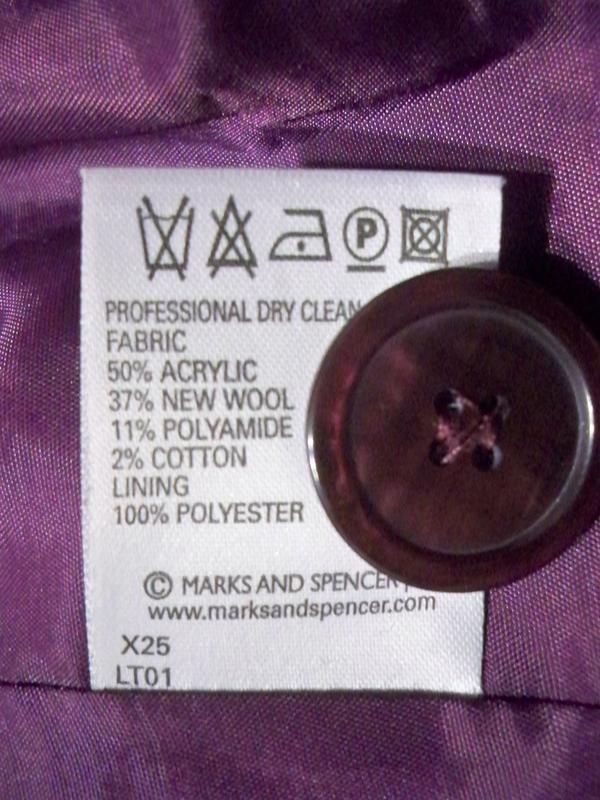 Фірмове базове пальто marks&spencer, 16, литва. - Фото 10