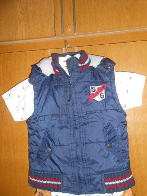 Куртка-безрукавка  topolino