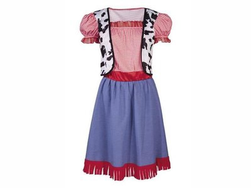Платье карнавальное из магазина lidl, германия, пастушка, р. 116