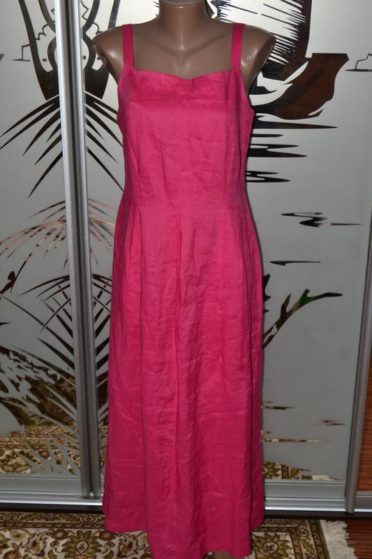 Сарафан платье на подкладке 100%рами