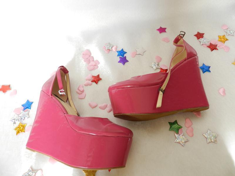 ✅ новые туфельки лак , но с дефектами , цена ниже закупки, кое...