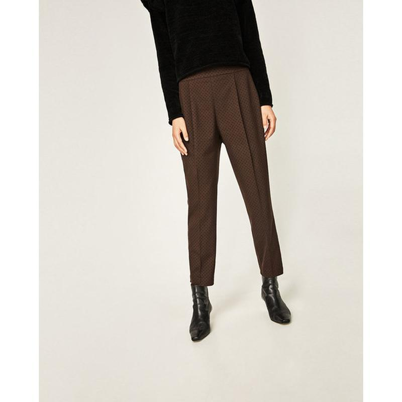 Стильні жіночи укорочені штани zarawoman
