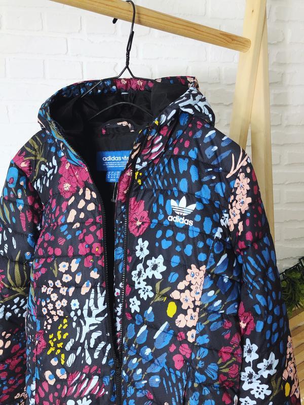 Куртка с капюшоном от adidas оригинал