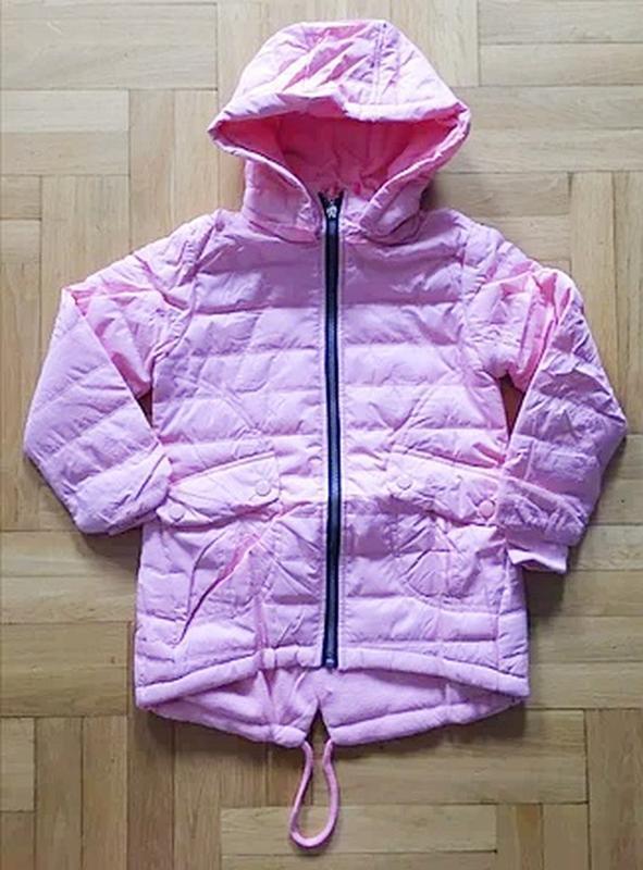 Курточка grase на флисе - Фото 2