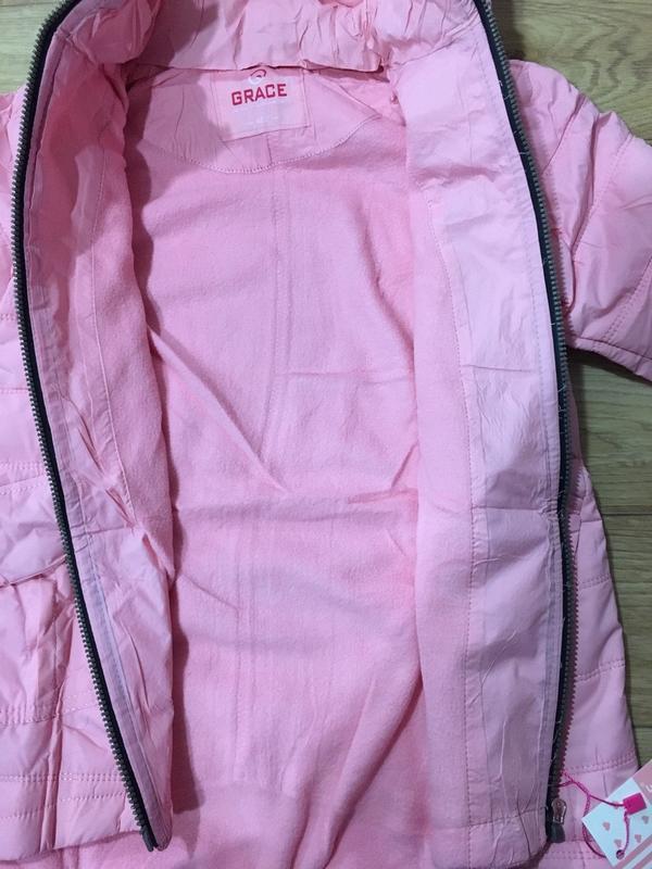 Курточка grase на флисе - Фото 4