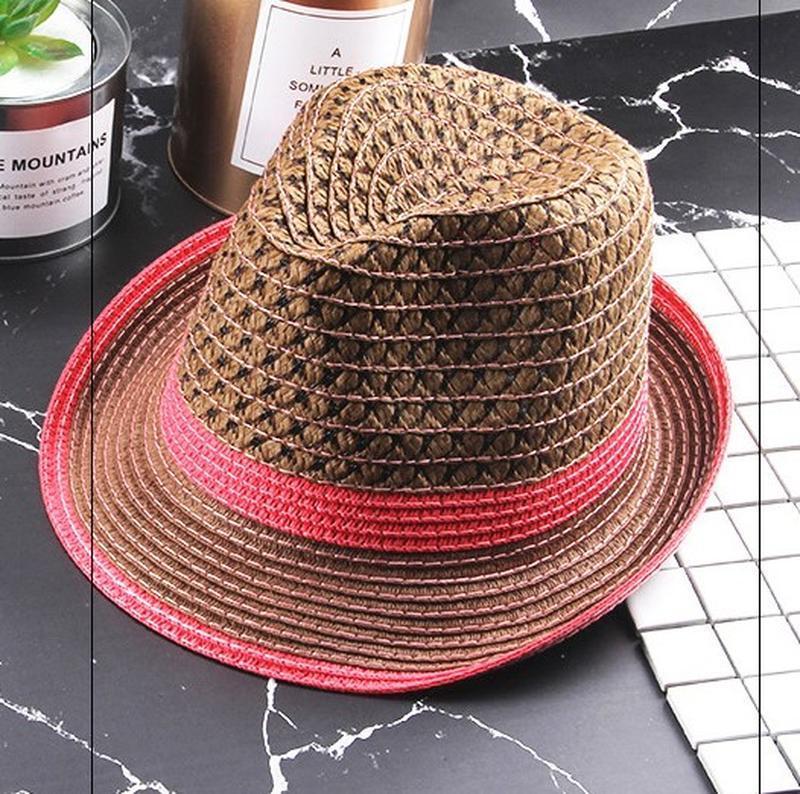 13-156 шляпа женская летняя от солнца шляпка панамка пляжная - Фото 2
