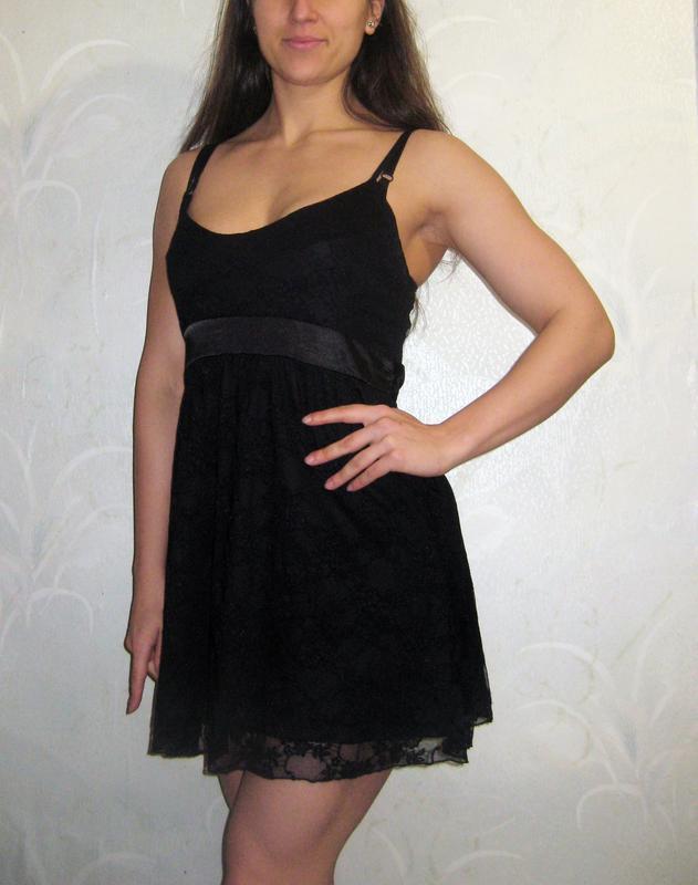 Мини платье sill belles короткое чёрное коктейльное на бретель...