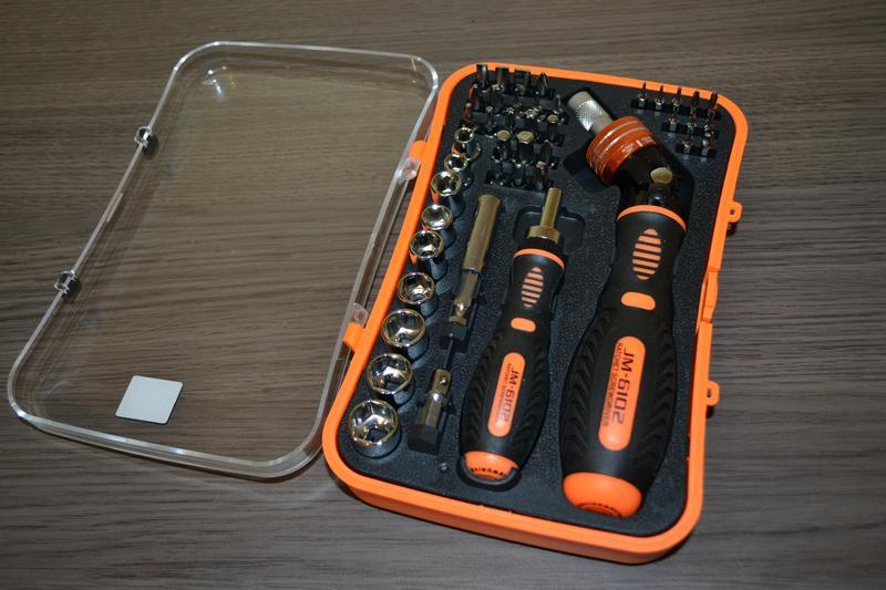 Качественный оригинальный набор инструментов, JAKEMY JM-6102