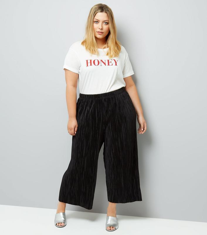 Кюлоты, штаны, плиссе, широкие укороченные брюки, жатые, плисс...