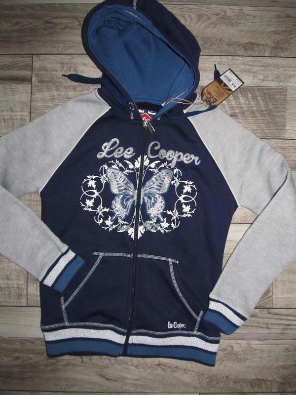 Стильная толстовка lee cooper sweatshirt р.xs 8