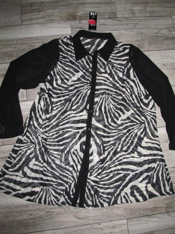 Стильная рубашка туника  от e-vieр.18