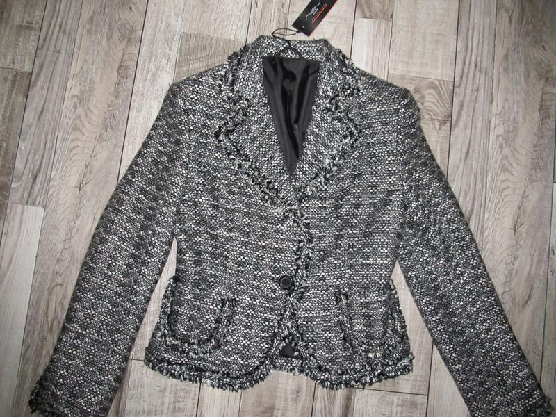 Классический пиджак на одну пуговку от new look р. 10