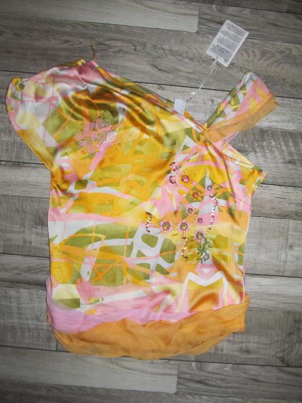 Оригинальная блуза от les fees du vent р. 42 франция