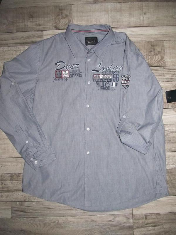 Cтильная мужская рубашка jean pascal р. ххl