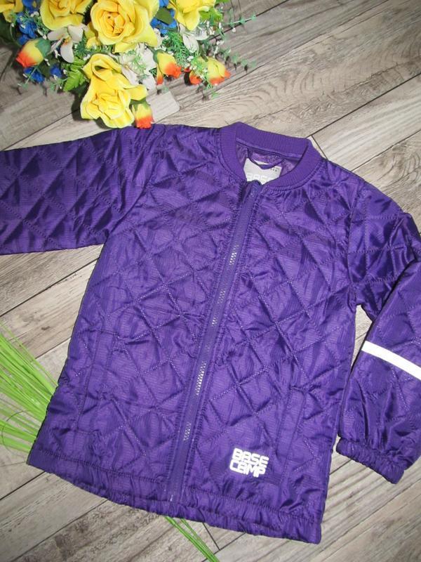 Базовая стеганная куртка от base camp рост 116 cм 5-6 лет