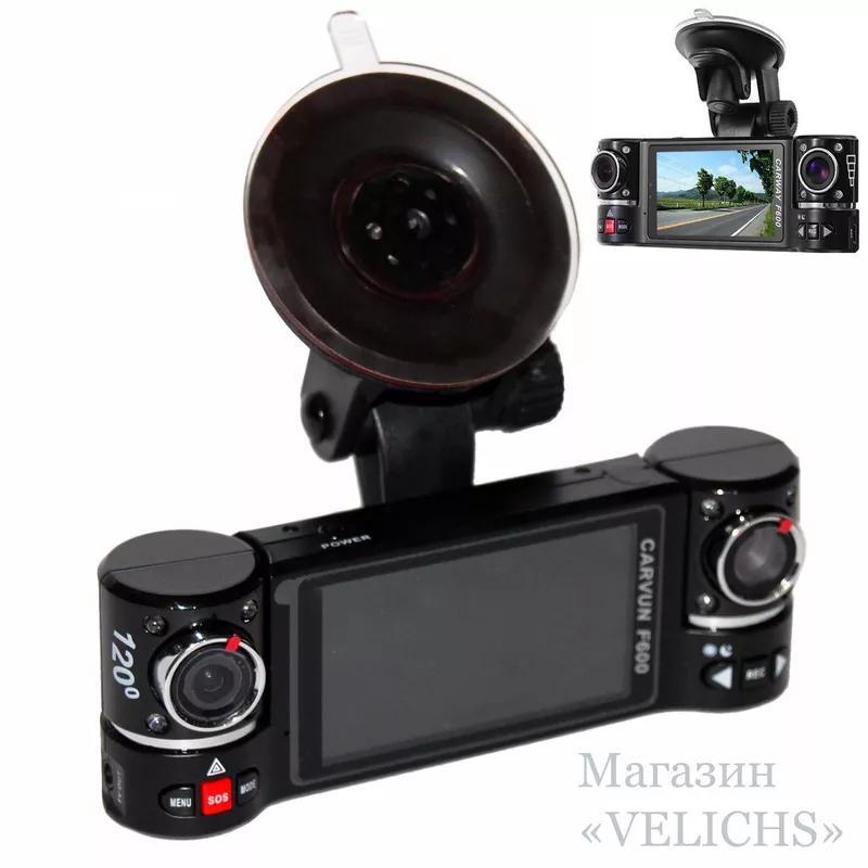 Видеорегистратор CARWAY F600 2 камеры ночная съёмка режим SOS - Фото 6