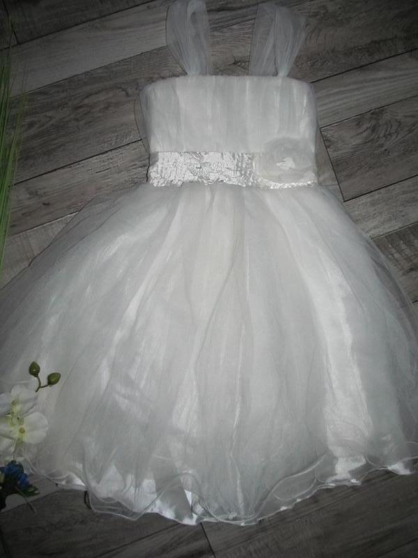 Невероятно красивое нарядное платье dikme cocuk на 4-5 лет