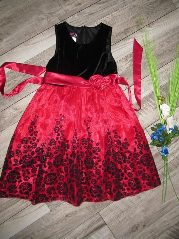 Невероятно красивое нарядное платье american princess love на ...