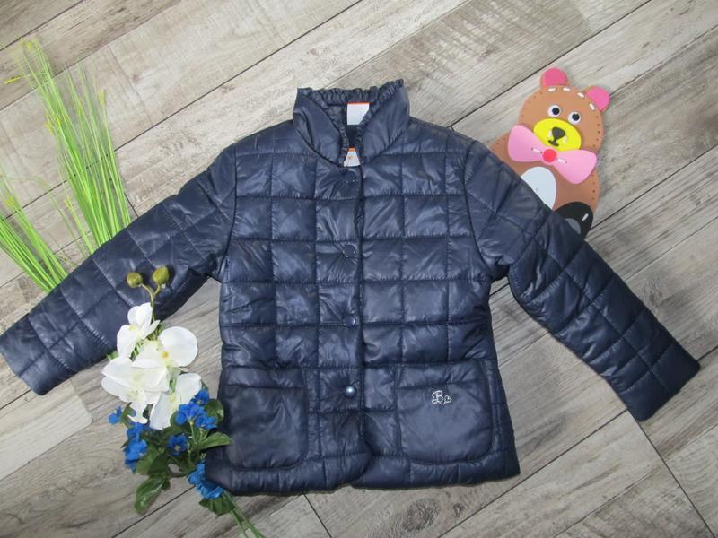 Стильная стеганная куртка от pusblu  на 4-5 лет