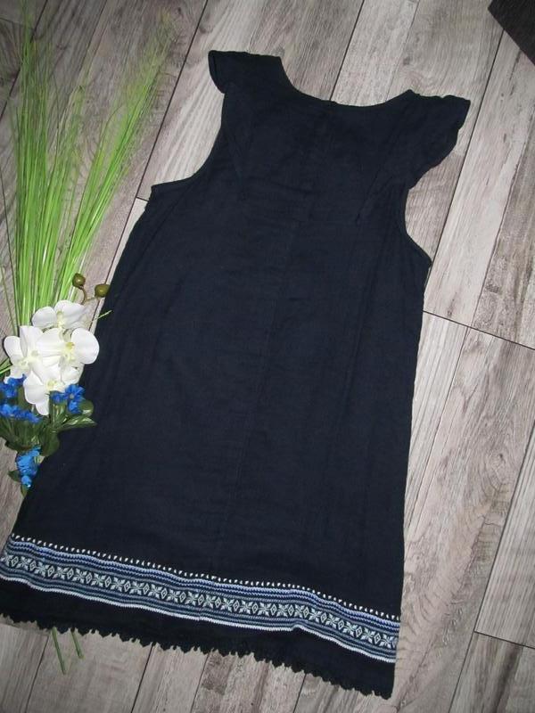 100% коттон  платье abercrombie kids на рост 140 см  смотрите ... - Фото 3